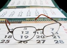 Een kalender Stock Foto