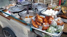 Een kar van het traditie mobiele voedsel