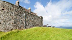 Een kasteel op het eiland van overweegt royalty-vrije stock foto's