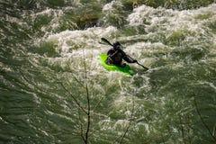 Een Kayaker in Goshen-Pas - 2 stock fotografie