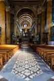 In een kerk Stock Fotografie