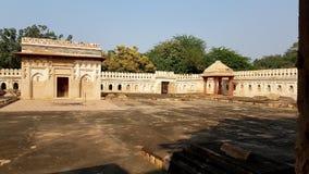 Een kerkhof van mughals Royalty-vrije Stock Fotografie