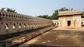 Een kerkhof van mughals Stock Foto's
