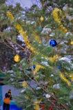 Een Kerstboom stock foto's
