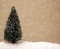 Een Kerstboomachtergrond Stock Fotografie