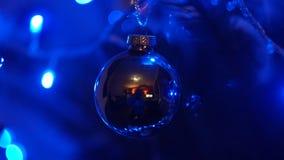 Een Kerstmissnuisterij op de Kerstmisboom Stock Foto's