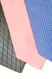 Een keus van halsbanden aan slijtage of koopt Stock Afbeelding