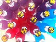Een kijken-benedenfoto van dranken Stock Afbeeldingen