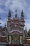 Een Klapbegraafplaats, Stad van Spoken, graven en details, Vietnam stock foto