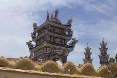 Een Klapbegraafplaats, Stad van Spoken, graven en details, Vietnam stock fotografie