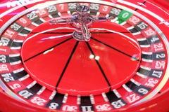 Een klassiek spel van de casinoroulette Stock Foto
