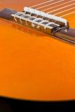 Een klassieke gitaar Stock Foto's