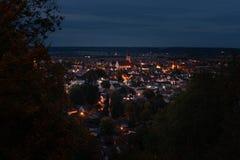 Een klein dorp in Beieren Duitsland Mindelheim royalty-vrije stock foto's