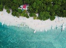 Een klein Eiland in Filippijns Royalty-vrije Stock Fotografie
