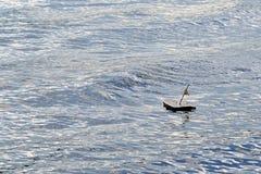 Een klein schorsschip Royalty-vrije Stock Foto