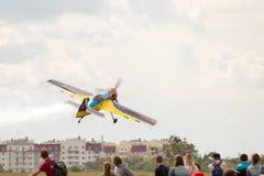 Een klein sportvliegtuig Stock Fotografie