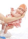 Een kleine baby Stock Foto
