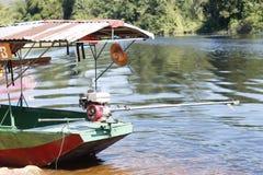 Een kleine boot voor vervoer Stock Fotografie