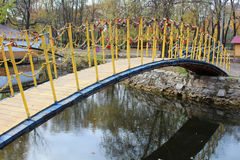 Een kleine brug Stock Fotografie