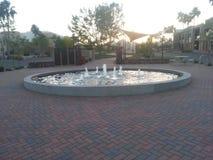 Een kleine fontein Royalty-vrije Stock Foto's
