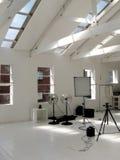 Een kleine fotografische studio Royalty-vrije Stock Foto's