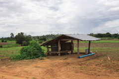 Een kleine hut Stock Afbeelding