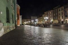 Een kleine markt in Krakau Stock Afbeeldingen
