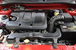 Een kleine motor van een auto royalty-vrije stock afbeelding