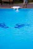 Een kleine pool. Stock Foto's