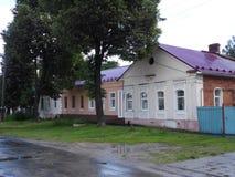 Een kleine Russische provinciale stad van gus-Kristal Stock Afbeeldingen
