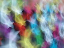 Een kleurrijk patroon als achtergrond Stock Afbeeldingen