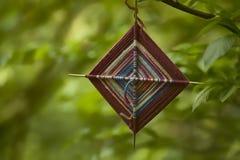 Een kleurrijke amulet Royalty-vrije Stock Afbeelding