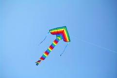 Een kleurrijke Vlieger Stock Afbeeldingen