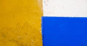 Een kleurrijke voorgevel stock afbeelding