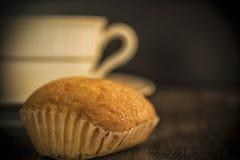 Een koekje van Madeleine en een kop stock fotografie