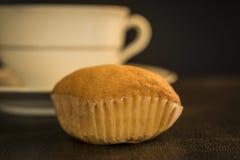 Een koekje van Madeleine en een kop royalty-vrije stock foto's
