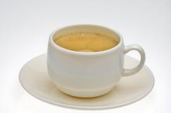 Een koffie tevreden Royalty-vrije Stock Foto's