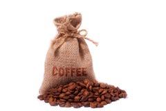 Een koffiezak Stock Foto