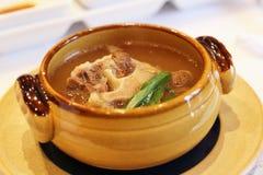 Een kom de soep van Calvi royalty-vrije stock foto