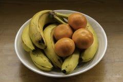 Een kom fruit royalty-vrije stock foto