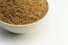 Een Kom van Anise Seed stock fotografie