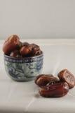 Een kom van fig. Royalty-vrije Stock Foto