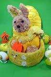 Een konijn van Pasen Stock Foto's