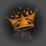 Een koninklijke Kroon Stock Afbeelding