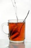 Een kop met thee Stock Foto's
