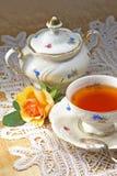 Een kop thee Royalty-vrije Stock Afbeeldingen