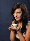 Een kop thee Stock Foto