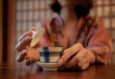 Een kop thee Royalty-vrije Stock Afbeelding