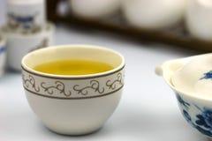 Een kop van Chinese thee Royalty-vrije Stock Foto's