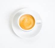 Een kop van espresso Royalty-vrije Stock Fotografie